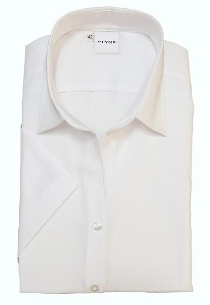 Kurzarm-Bluse OLYMP Luxor comfort fit, weiß