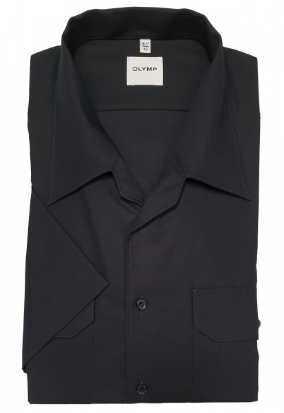 Hemd OLYMP FEUERWEHR modern fit, Kurzarm, marine