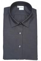 Langarm-Bluse OLYMP Luxor modern fit, anthrazit