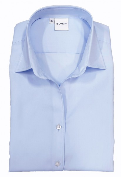 Langarm-Bluse OLYMP Luxor comfort fit, skyblue