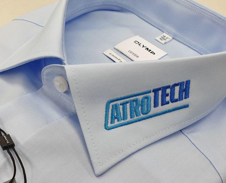 """Hemden besticken """"Atrotech"""""""