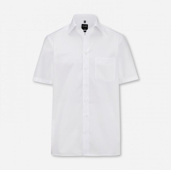 Hemd OLYMP Luxor modern fit, Kurzarm, weiß