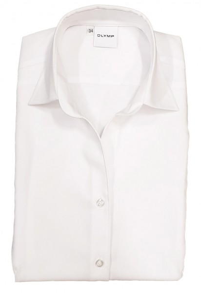 Bluse OLYMP Luxor comfort fit -weiß-