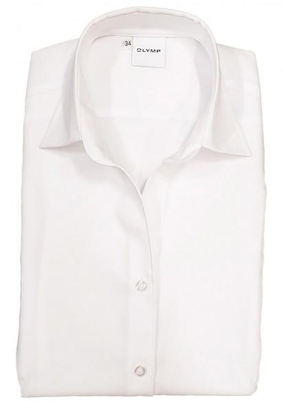 Langarm-Bluse OLYMP Luxor comfort fit, weiß