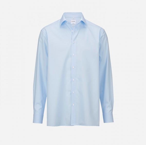 Hemd OLYMP Luxor comfort fit, Langarm, skyblue (ohne Brusttasche)