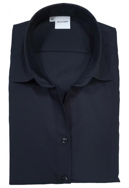 Bluse OLYMP Luxor comfort fit -schwarz-
