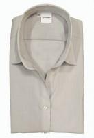Langarm-Bluse OLYMP Luxor comfort fit, hellgrau