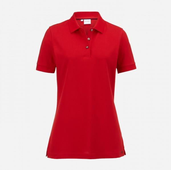 OLYMP Damen-Poloshirt Piqué, rot