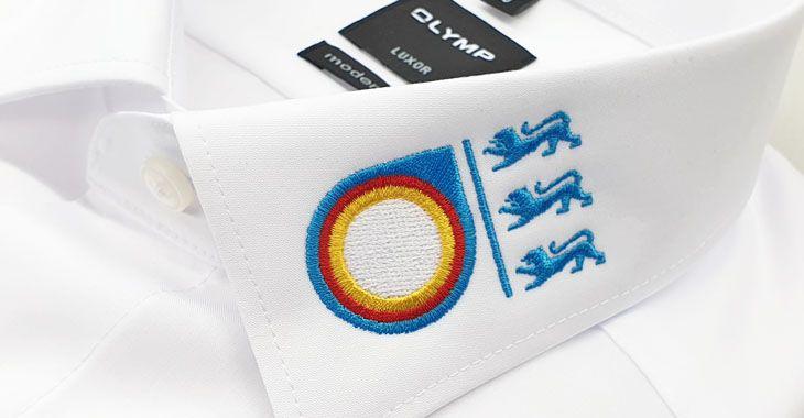 Vorteile bei der Bestellung von bestickten OLYMP-Hemden bei der Stickerei Steinwinter