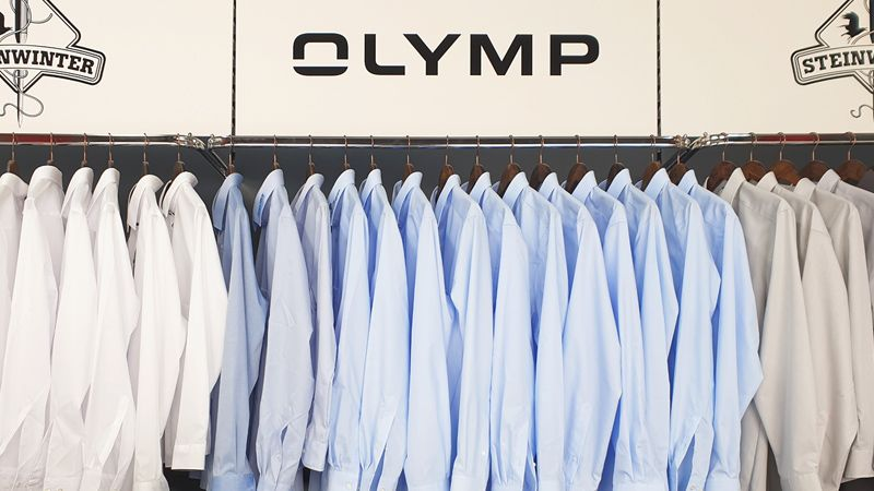 OLYMP-Hemden als Muster zum Ausleihen: Muster-Service