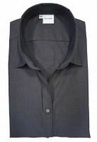 Langarm-Bluse OLYMP Luxor comfort fit, anthrazit