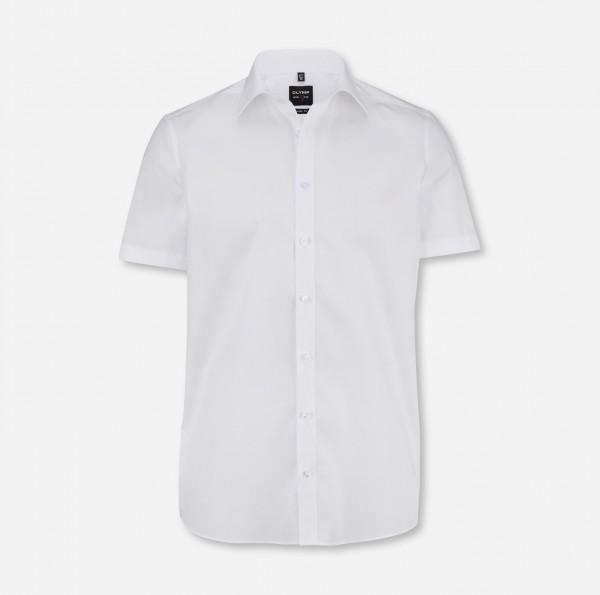 Hemd OLYMP Level Five body fit, Kurzarm, weiß
