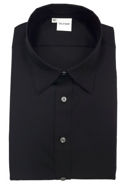 OLYMP Bluse Tendenz Modell 12 -schwarz-