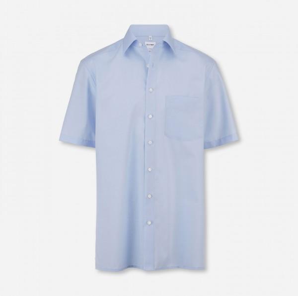Hemd OLYMP Luxor comfort fit, Kurzarm, hellblau