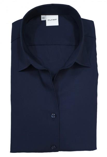 Langarm-Bluse OLYMP Luxor comfort fit, marine