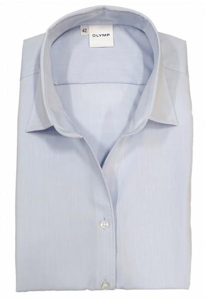 Langarm-Bluse OLYMP Luxor comfort fit, hellblau