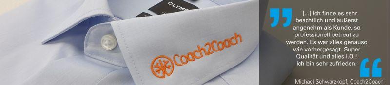 Bewertung Coach2Coach für Stickerei Steinwinter