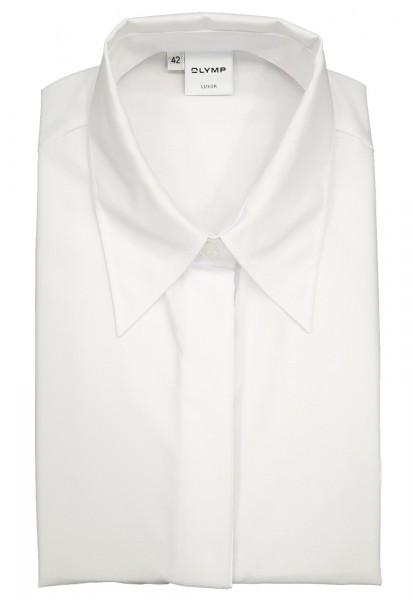 OLYMP Bluse Luxor Modell 01 -weiß-