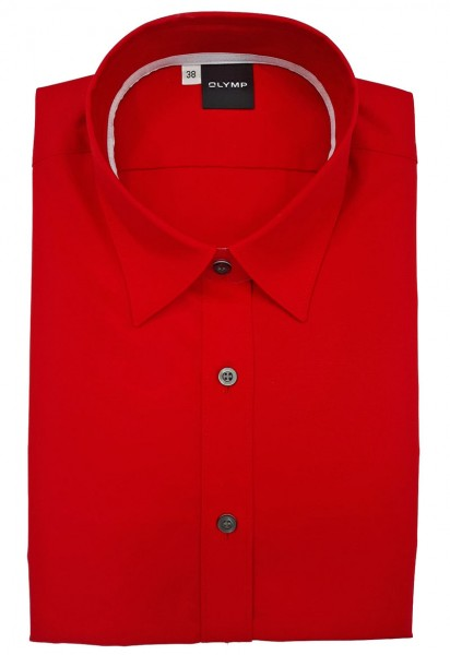 Bluse OLYMP Level Five body fit -rot-