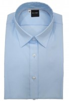 Langarm-Bluse OLYMP Level Five body fit, skyblue