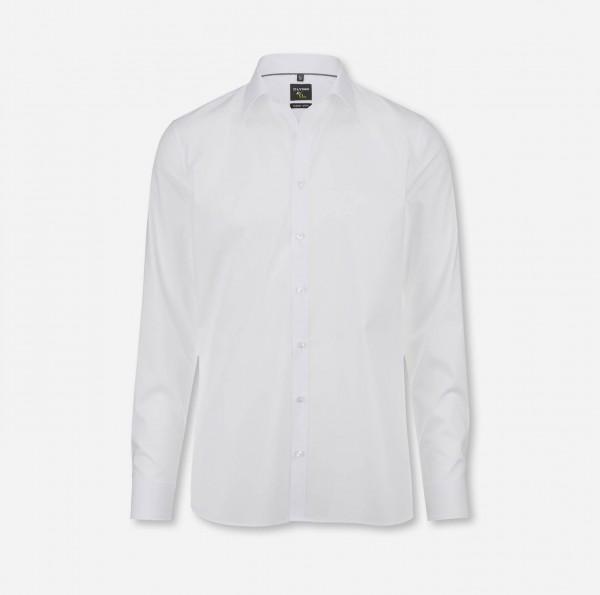 Hemd OLYMP No. Six super slim, Langarm, weiß